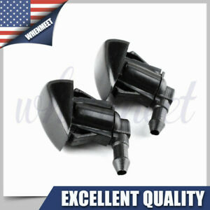 2pcs Window Windshield Washer Wiper Nozzle Jet 85381 Aa010 For Toyota Camry Echo