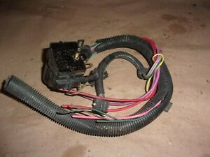 86 Camaro Z28 V8 Tpi Engine Harness Box 1284