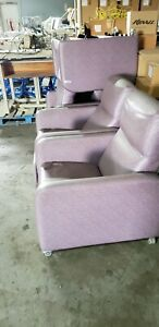 Patient Recliner Medical Dialysis Chair transport Lot Of 4