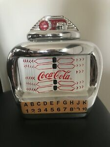 Used Antique Coca Cola cookie Jar. Minor scratch on it. View pictures.