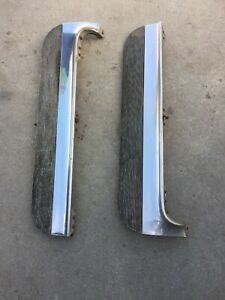 Rare 1958 Cadillac Fleetwood 60 Special Fender Skirts Left And Right