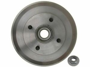 For 2009 2011 Ford Focus Brake Drum Rear Raybestos 96753jw 2010