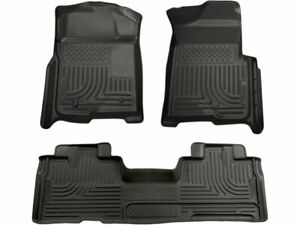 For 2009 2013 Ford F150 Floor Mat Set Front And Rear Husky 55891bc 2010 2012