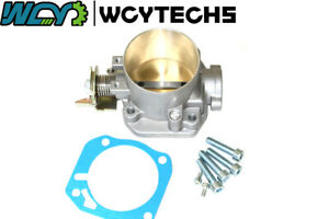 74mm Throttle Body For Honda Civic Si Crx Acura Integras Gsr B D F H Air Intake
