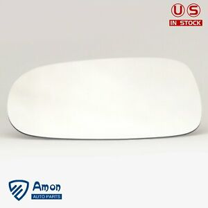Driver Side Mirror Glass Left Full Adhesive For 02 05 Cadillac Deville Seville