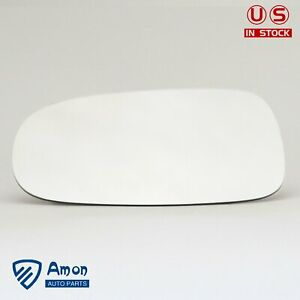 Driver Side Mirror Glass Left Lh Full Adhesive For 03 11 Saab 9 3 9 3x 93 9 5 95
