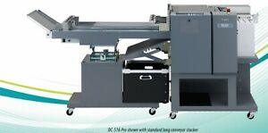 Duplo Dc 516 Pro Multi Finisher With Slitter Cutter And Creaser New Long Stacker