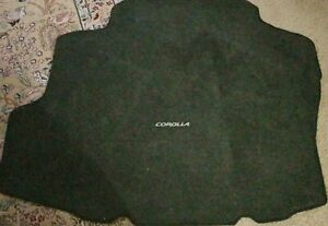 2009 2010 Toyota Corolla Rear Trunk Cargo Floor Mat Cover Liner Used Oem 09 10
