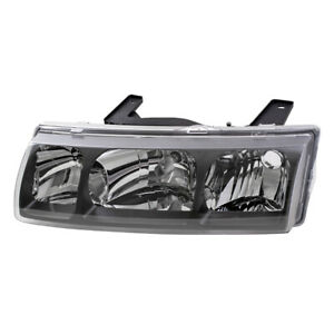 Drivers Side Headlight Headlamp Lens Housing Assembly For 2002 2004 Saturn Vue