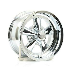 Cragar Vintage 1pc G T 15x8 5x4 3 4 Alum 1pc Chrome Set Of 4 Wheels 610c583445