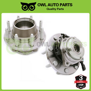Front Wheel Bearing Hub Left And Right Assembly For Ford F 350 F 250 Super Duty
