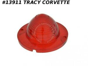 1961 1967 Corvette Tail Light Lens Gm Part 5954803 1958 Chevrolet Full Size Car