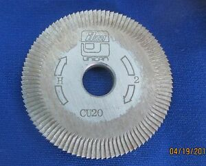 Cu20 Cutting Wheel For Ilco 024 Machines Good Used Ilco Uncan Blade Cutter
