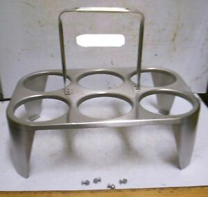 Stainless Steel Flatware Washing And Transporting Cylinder Rack nos