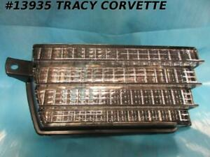 1975 1979 Corvette Parking Turn Signal Light Assembly Front Right Gm 912310 Nos