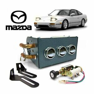 Mazda Compact 12v Under Dash Auxiliary Cab Heater Box Assembly Rx 7 Turbo Fd3s
