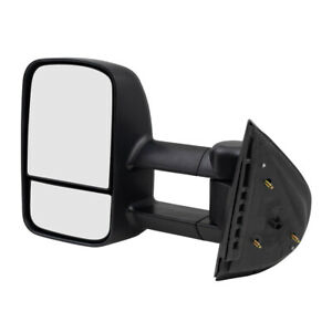 Drivers Manual Tow Telescopic Mirror For Chevrolet Gmc Cadillac Pickup Truck Suv