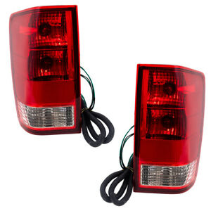 New Pair Set Taillight Taillamp Assembly For 04 15 Nissan Titan Pickup Truck