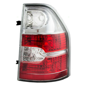 New Passengers Taillight Taillamp Lens Housing Assembly For 04 06 Acura Mdx