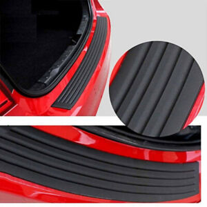 Car Rear Trunk Sill Pad Bumper Protector Guard Rubber Trim Anti Scratch Cover