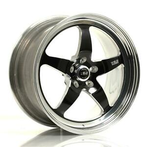 Weld Racing Rts Forged 20x10 5 5x120mm Alum 3pc Blk Matte Ea Wheel 71hb0105n73a