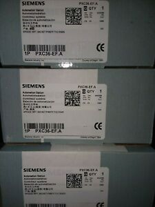 limited Time Offer 3 Brand New Siemens Automation Station Pxc36 ef a