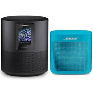 Bose Home Speaker 500Triple Black WBose SoundLink Color Bluetooth Speaker Blue