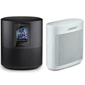 Bose Home Speaker 500Triple Black WBose SoundLink Color Bluetoth Speaker White
