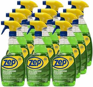 Zep All purpose Cleaner And Degreaser 32 Ounce Zuall32 case Of 12 Pro Formula