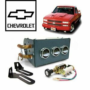 88 98 Chevy Gmc Obs Truck Compact Under Dash Auxiliary Cab Heater Box 89 454 Ss