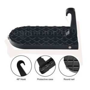 Mini Car Door Latch Hook Foot Step Pedal Ladder Doorstep For Jeep Suv Truck Roof