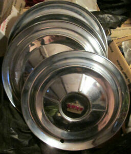 Set Of 4 1953 1954 Chrysler Imperial Hubcaps