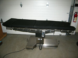 Stierlen Maquet 1130 Power Surgical Operating Table W Remote 60 Day Warranty Or