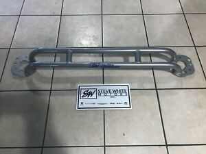 11 20 Durango Grand Cherokee Front Strut Tower Brace Chrome Molly Steel Silver
