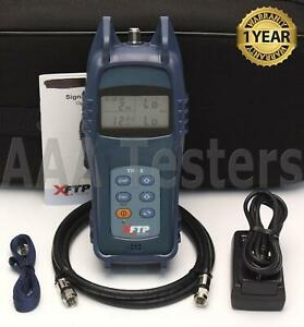 Trilithic Xftp Tr 3 Catv Signal Level Meter 46 Mhz To 1 Ghz Frequency Tr3