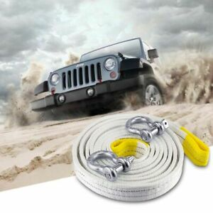 Towing Rope Strap Cable With Reflective Light For Car Truck Trailer Suv