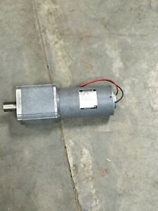 Slightly Used Groschopp Pm8024 pl7315 12 Volt Brushed Dc Gear Motor