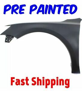 New Pre Painted Driver Lh Fender For 2011 2018 Volkswagen Jetta Sedan W Touch Up