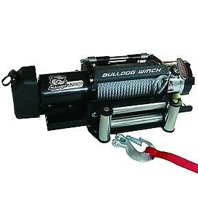 Bulldog Winch 10039 12000lb Trailer Winch Wire Rope Roller Fairlead