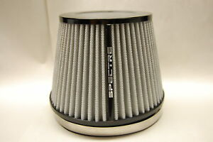 Spectre Hpr9606 6 Inlet Clamp On Replacement Cold Air Intake White Filter