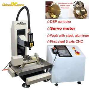 Steel Cnc 3040 5axis 2 2kw Machine Engraving Cutting Router For Steel Metal Diy