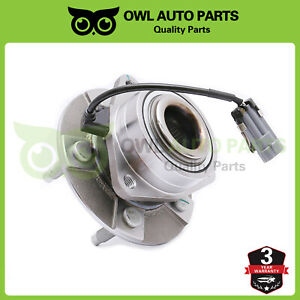 Front Wheel Hub Bearing Lh Or Rh For 2002 2006 Chevy Equinox Torrent Vue W Abs