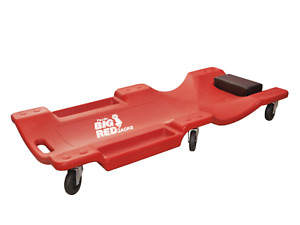 Torin Big Red Rolling Garage Shop Creeper 40 Plastic Mechanic Cart With Padded