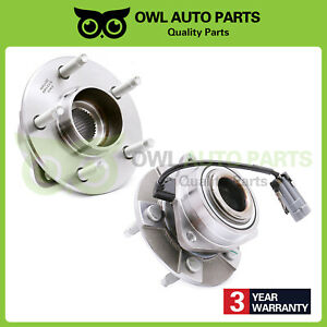 2 Front Wheel Bearing And Hub For 02 06 Chevy Equinox Saturn Vue Pontiac Torrent