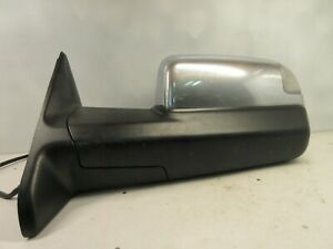 10 12 Dodge Ram 1500 2500 3500 Tow Mirror Chrome Driver s Left Side View Mirror