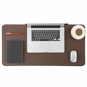 Genuine Leather Desk Pad Office Desk Mat Blotter On Top Of Desks Waterproof