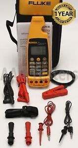 Fluke 773 Milliamp Ma Process Clamp Meter Non Contact Tester