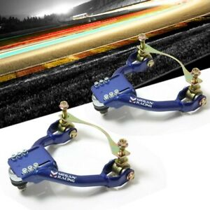 Megan Racing Blue Front Upper Camber Kit For 90 93 Integra 88 91 Civic