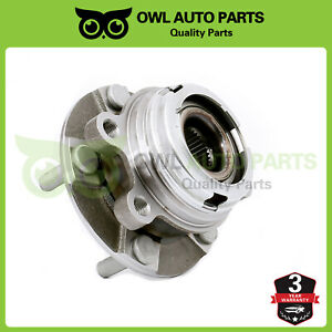Front Complete Wheel Bearing Hub Assembly For Nissan Altima Murano Quest Maxima