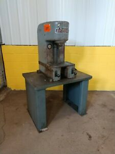 4 Ton Denison Model Dh4c01c18a59 Hydraulic Bench Type C frame Press Ybm 11870